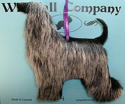 Afghan Hound Dog Soft Plush Christmas Canine Ornament # 4 by WC