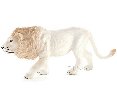 FREE SHIPPING | Mojo Fun 387206 Male White Lion Realistic Model - New in package
