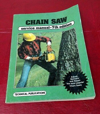 Vintage Chain Saw Service Manual 7th Edition Technical Publication intertec ✞