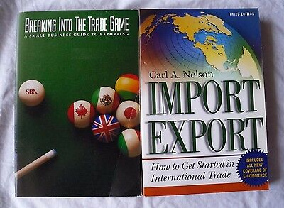 2 Books Import/export International Trade Small Business Guide Exporting Sba