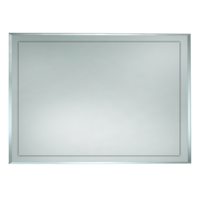 1200 x 800mm BATHROOM MIRROR BEVELLED EDGE HUNG VERTICAL or HORIZONTAL F002-1200