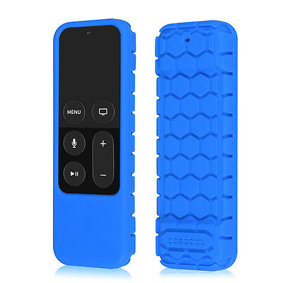 Shock Proof Silicone Case Cover for Apple TV (4th Gen) Siri Remote Controller