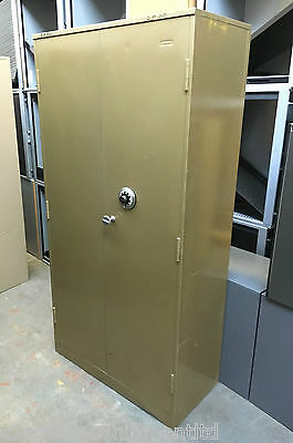 Used High Security Double Door Cupboard [Chubb MK4 Manifoil Lock] Gold