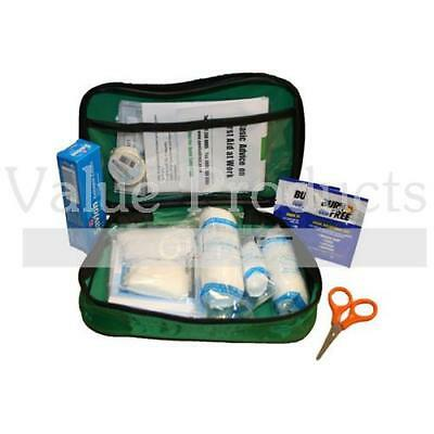 51 Piece Compact First Aid Kit in Nylon Case/Bag - Home Travel Holiday Camping