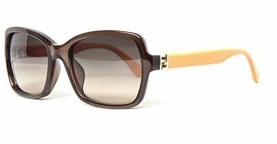 Genuine FENDI 0007S Replacement Lenses - Gradient Brown