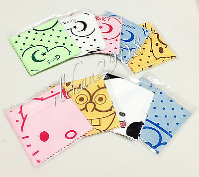 Kids/Children Eyeglass/Sunglasses Cute Cartoon Lens Cleaning Glasses Cloth
