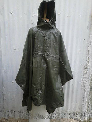 US Vietnam era NOS poncho (1959).Soft & pliable. Historical or useful even today