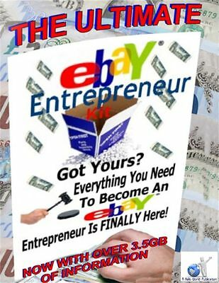 THE Ultimate Ebay Entrepreneur Kit Everything You Need to Become A TopSeller cd