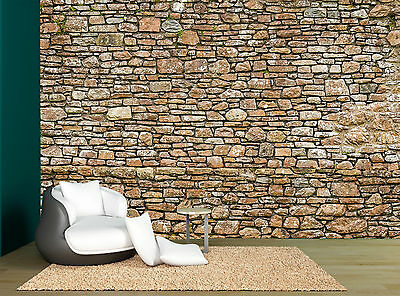 Stone Wall Mural Photo Wallpaper GIANT WALL DECOR