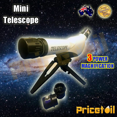 OZ Mini Kids Telescope 20X 30X 40X Astronomy Observation Educational Toy Gift