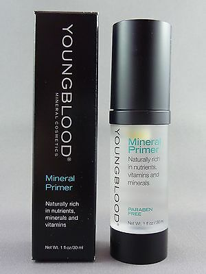 Youngblood Mineral Primer Full Size 30ml Makeup Foundation Primer New in Box