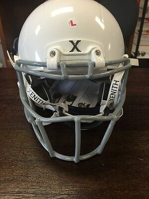 BRAND NEW!Xenith X2E White Helmet Gray PRIDE Mask - YOUTH LARGE RETAIL 169.99