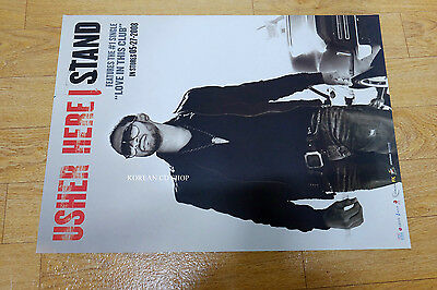 Usher - Here I Stand *Official POSTER* Double side poster