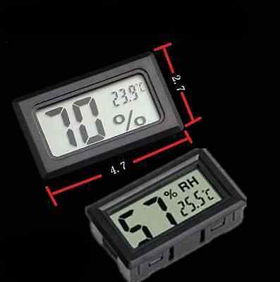 Digital LCD Hygrometer Thermometer Temperature Humidity Meter Alarm Clock Indoor