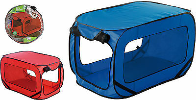 Large Portable Lightweight Pop Up Dog Pet Kennel House Travel Cage Puppy Cat Pe