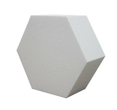14 Inch Hexagon 4 Inch Deep Professional Cake Dummy