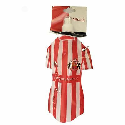 Sunderland AFC Flat Water Bottle Official Football Sports Gym School Cycling