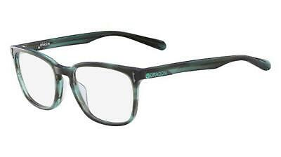 DRAGON DR 148 DR148  GABE teal horn 320 Eyeglasses