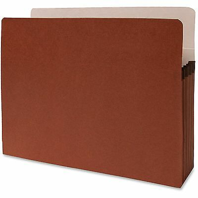 "Sparco Accordion File Pocket,Letter, 5-1/4"" Expansion,10/BX,Redrope 95003"