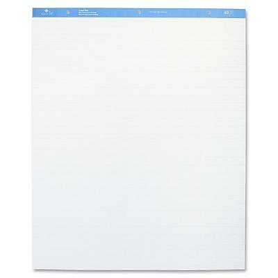"""Sparco Standard Easel Pad, 1"""" Ruled, 27""""x34"""", 40 Shts, 4/CT, White 52732"""