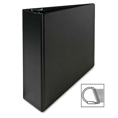 "Sparco Vinyl D-Ring Binder 3""Capacity 8-1/2""x11"" Black 07701"