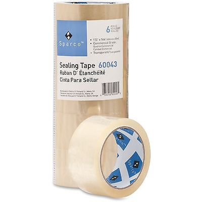 """Sparco General Purpose Sealing Tape, 1-7/8""""x164', 3"""" Core, Clear 60043"""