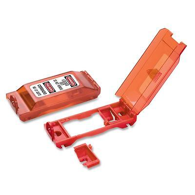 Master Lock Wall Switch Cover/Lockout Red 496B