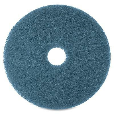 """3M Floor Cleaning Pads 20"""" 5/BX Blue 35043"""