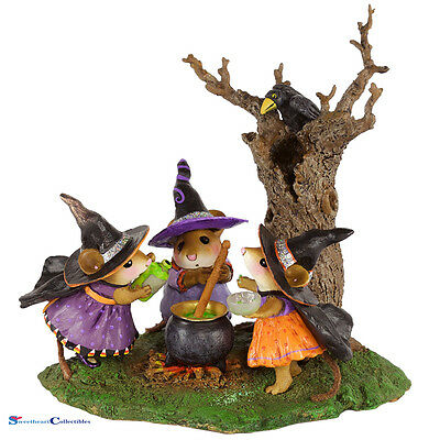 Wee Forest Folk M-185D Halloween Cooking Up Trouble Limited