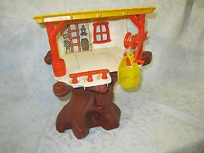 Little People Play Family Playskool Weebles Tree house vintage toy Building Only