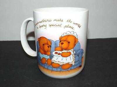 Avon Beary Special To Me Grandmother Collectible Coffee Tea Mug Cup