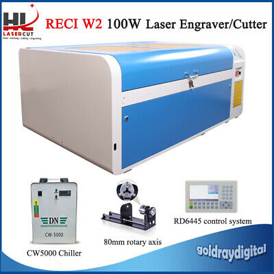 100W Desktop Laser Engraver Engraving Cutting Machine USB Up and Down 1000*600mm