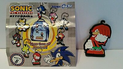 Knuckles from Sonic the Hedgehog keychains