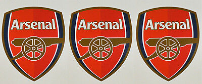 3 x Arsenal Football Club Stickers