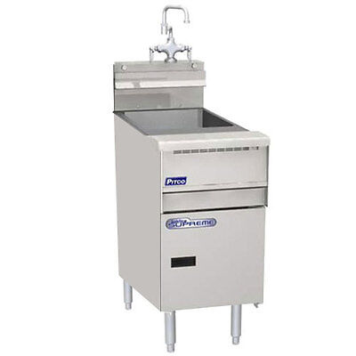 Pitco SSRS14 Solstice Supreme Pasta Rinse Station for SSPG14, 10 Gallon Capacity