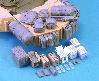 Legend 1/35 Canadian Leopard C2 & C2 MEXAS Tank Stowage & Accessories Set LF1284