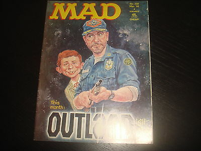 MAD MAGAZINE #239  British UK Edition  FN/VF