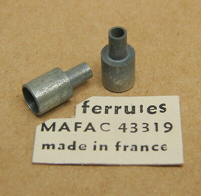 Vintage New NOS Mafac Bicycle Brake Cable Ferrules (Qty of 2)