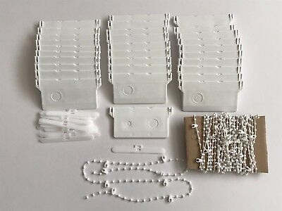Vertical Blind Bottom Weights And Chains Repair Kit Spare Parts  89 Mm Wide