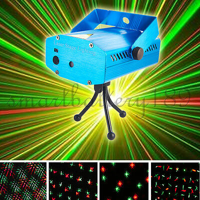 Music/MP3 Active Crystal Ball LED Stage Lighting Club Disco DJ Party Lights AU
