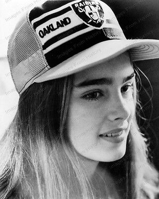 8x10 Print Brooke Shields Oakland Raiders 1979 #BS05