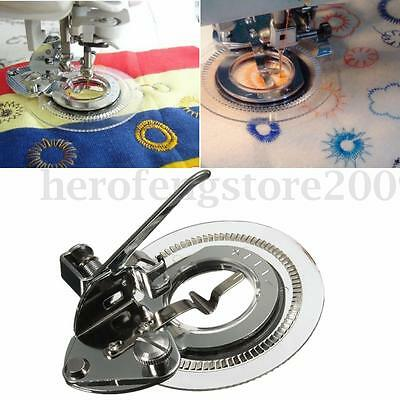 Flower Stitch Embroidery Presser Foot for Brother Janome Singer Sewing Machine