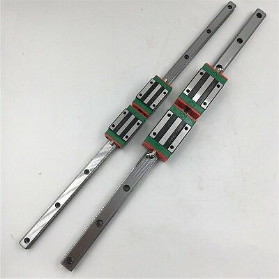 HGR15 750mm Long Linear Rail Guide & 2pc HGH15CA Carriage Block CNC Router