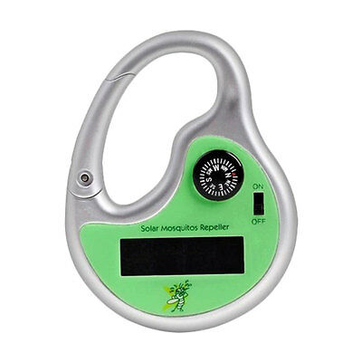 Portable Eco-Friendly Ultrasonic Solar Powered Sonic Mosquito Repeller