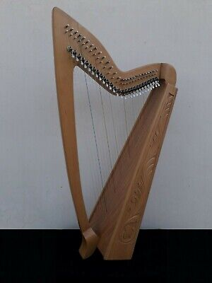 Geoffrey | Limerick 27 Strings Rosewood | Gevon Irish Harp with levers | H10L