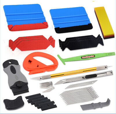 10 x Car Window Tint Squeegee Auto Film Wrapping Installation Applicator Tool UK