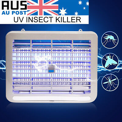 220V LED Electronic Restaurant Home Mosquito Insect Killer Bug Fly Zapper Trap