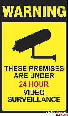 CCTV Warning Sign, CCTV in Operation