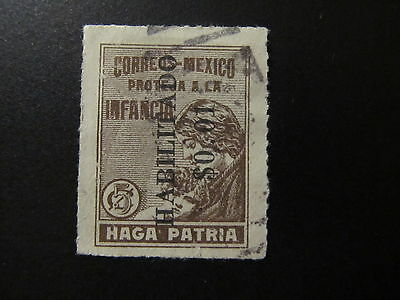 1930 - Mexico - Surcharged In Black - Scott Ra11 Pt11 1C On 5C