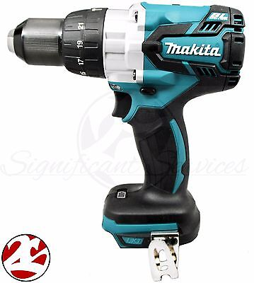 "Makita XPH07Z 18V LXT Lithium-Ion Brushless 1/2"" Cordless Hammer Drill Driver"